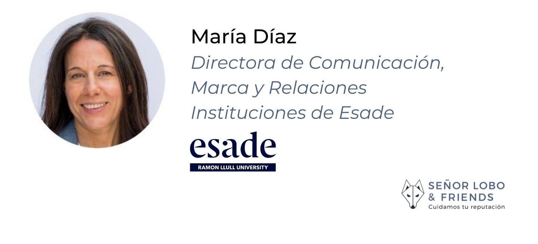 María Díaz banner- COMUNICACIÓN